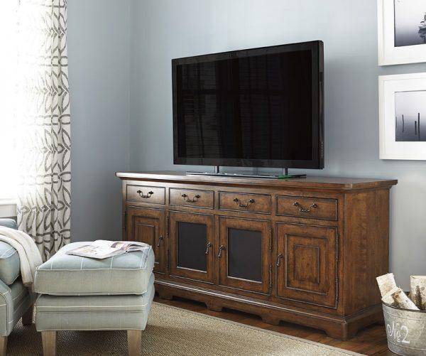 Universal Furniture Paula Deen Home Dogwood Entertainment Console-7768