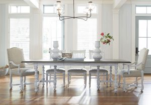 Universal Furniture Paula Deen Home Dogwood Dining Room in Blossom Finish-0