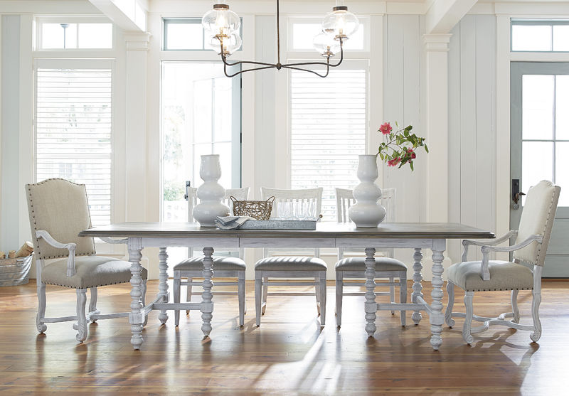 Universal Furniture Paula Deen Home Dogwood Dining Room In