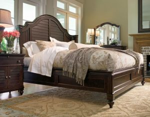 Universal Furniture Paula Deen Home Bedroom with Steel Magnolia Bed in Tobacco Finish-0