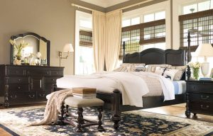 Universal Furniture Paula Deen Home Bedroom with Savannah Bed in Tobacco Finish-0