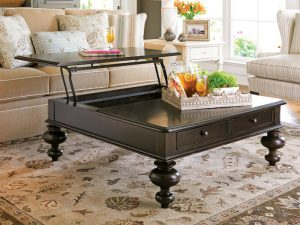 Universal Furniture Paula Deen Home Accent Furniture in Tobacco Finish-0