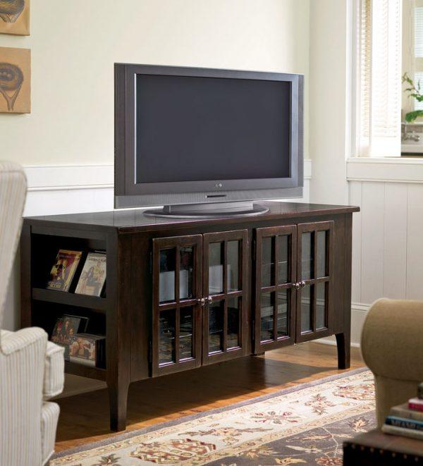 Universal Furniture Paula Deen Home Accent Furniture in Tobacco Finish-7687