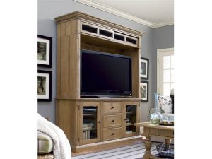 Universal Furniture Down Home Entertainment Console with Hutch by Paula Deen Home-0
