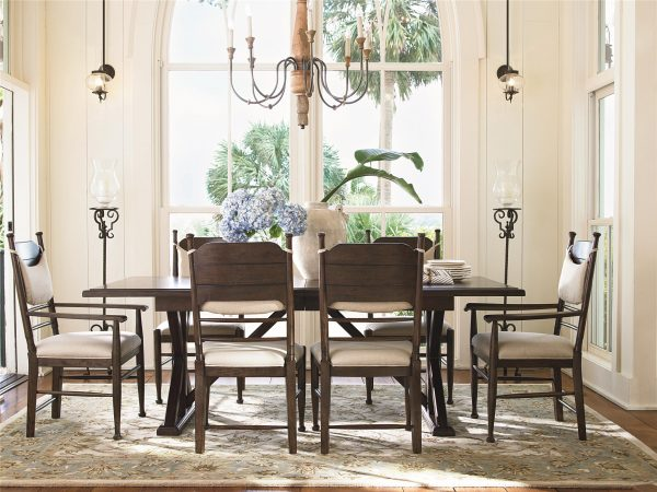 Universal Furniture Down Home Dining Room by Paula Deen Home in Molasses Finish-0