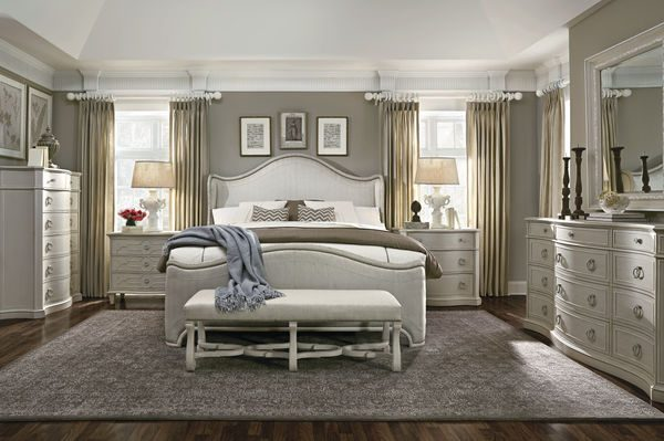 A.R.T. Furniture Chateaux Bedroom Collection in Grey Finish-8049