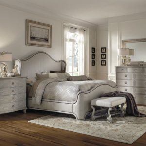 A.R.T. Furniture Chateaux Bedroom Collection in Grey Finish-0