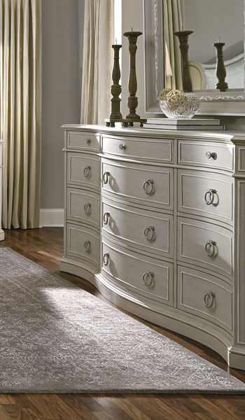 A.R.T. Furniture Chateaux Bedroom Collection in Grey Finish-8066