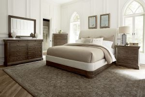 A.R.T. Furniture Saint Germain Bedroom Collection With Upholstered Bed-0