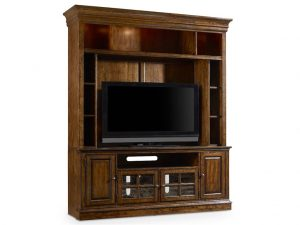 Hooker Furniture Brantley Entertainment Console with Hutch-0