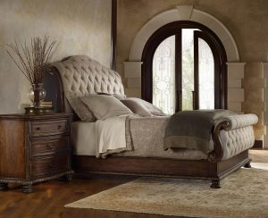 Hooker Furniture Adagio Bedroom With King Tufted Bed-0