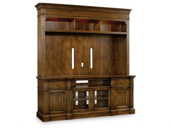 Hooker Furniture Archivist Two Piece Entertainment Group-0
