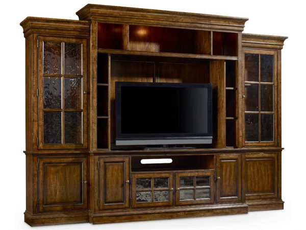 Hooker Furniture Brantley Four Piece Entertainment Wall Group