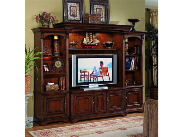 Hooker Furniture Brookhaven Entertainment Wall Group-9741