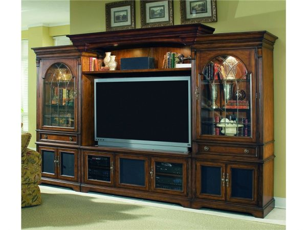 Hooker Furniture Brookhaven Entertainment Wall Group-9740