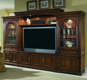 Hooker Furniture Brookhaven Entertainment Wall Group-0