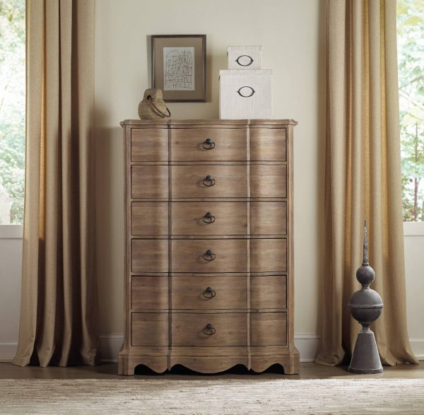 Hooker Furniture Corsica Bedroom Collection with Upholstered Bed-8932