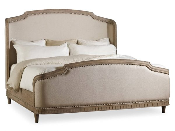Hooker Furniture Corsica Bedroom Collection with Upholstered Bed-8923