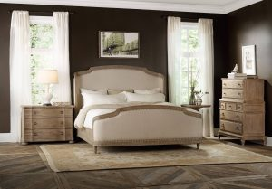 Hooker Furniture Corsica Bedroom Collection with Upholstered Bed-0