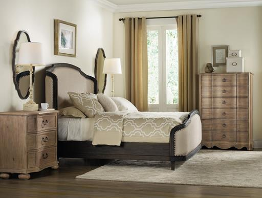 Hooker Furniture Corsica Bedroom Collection with Upholstered Bed-8940