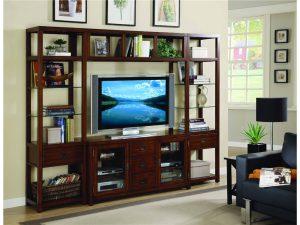 Hooker Furniture Danforth Entertainment Wall Group-0