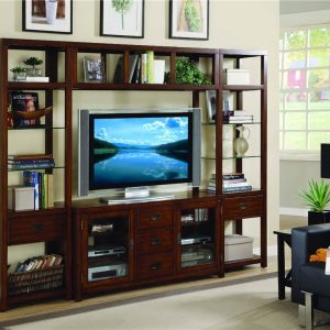 Hooker Furniture Danforth Entertainment Wall Group-0