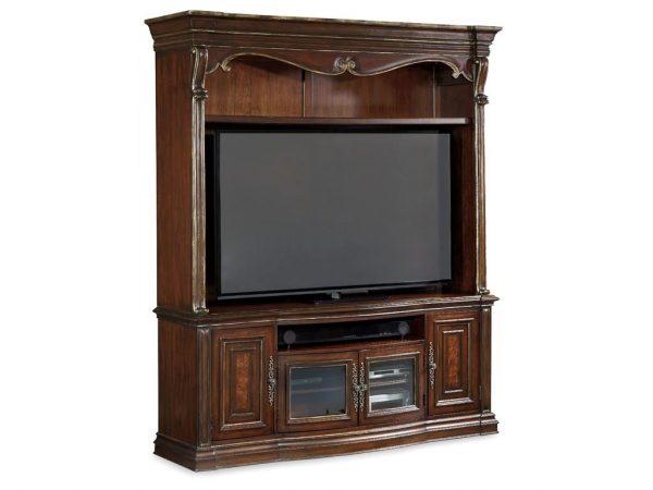 Hooker Furniture Grand Palais Two Piece Entertainment Console-0