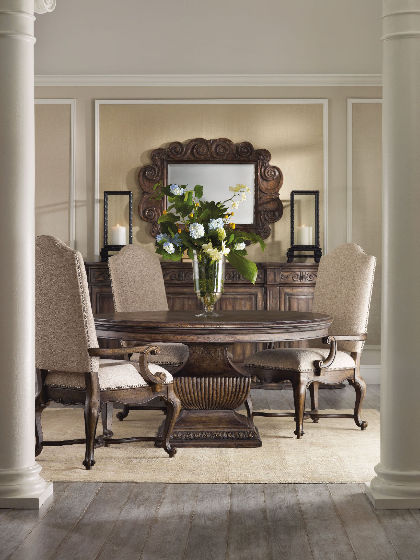 Wynwood Dining Room Furniture: Hooker Furniture Rhapsody Dining Room Collection
