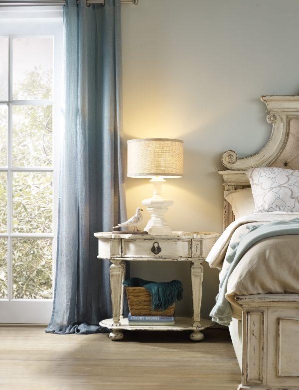 Hooker Furniture Sanctuary Bedroom Collection Vintage White Finish-8689