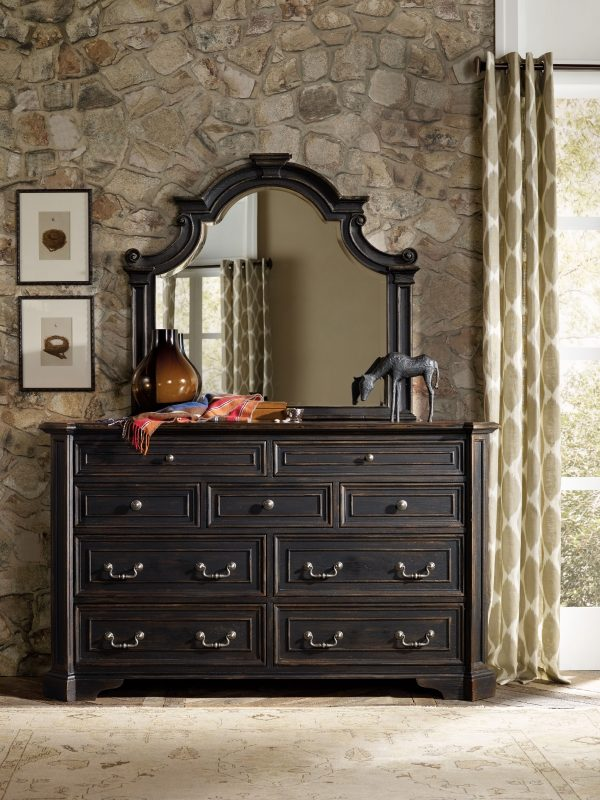 Hooker Furniture Sanctuary Bedroom Collection Antique Coffee Finish-8681