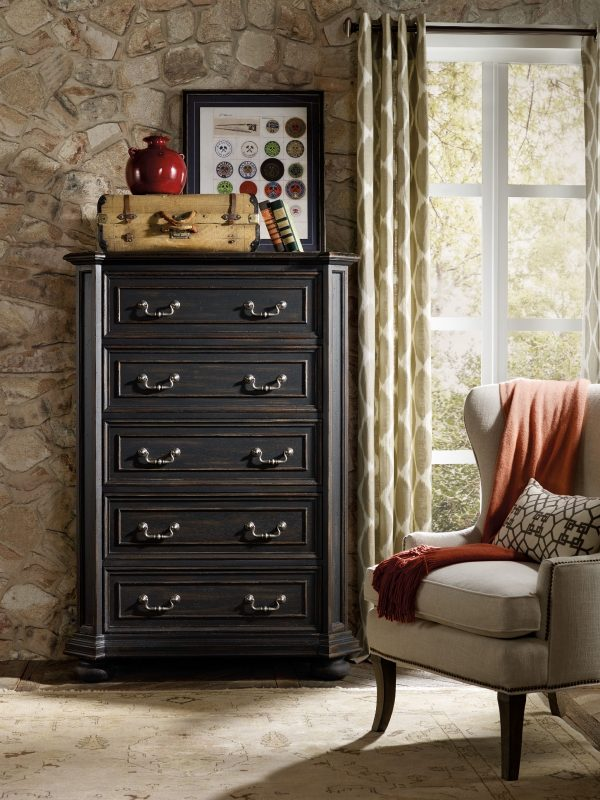 Hooker Furniture Sanctuary Bedroom Collection Antique Coffee Finish-8678