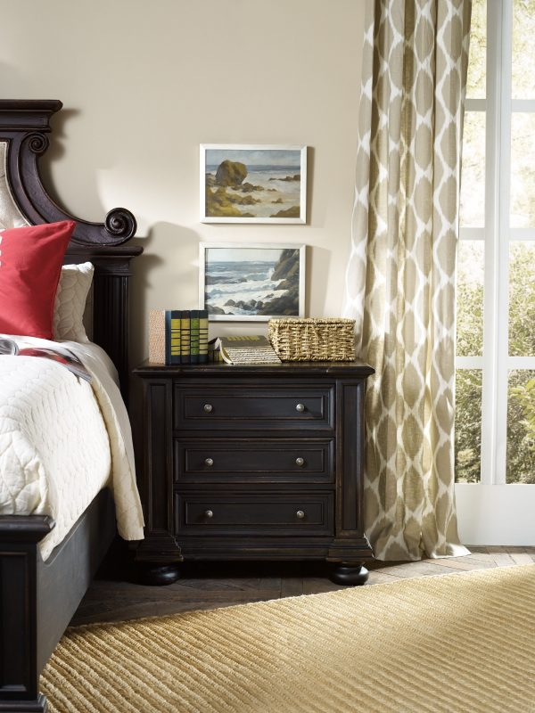 Hooker Furniture Sanctuary Bedroom Collection Antique Coffee Finish-8682
