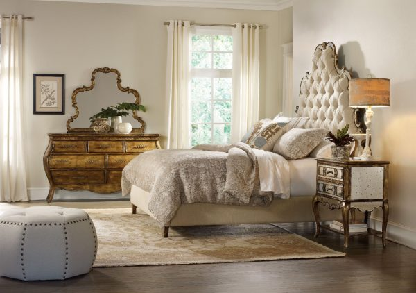Hooker Furniture Sanctuary Bedroom Collection Bling Finish-0
