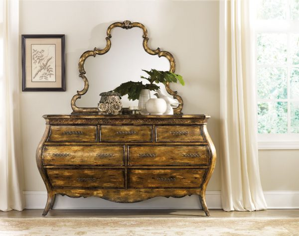 Hooker Furniture Sanctuary Bedroom Collection Bling Finish-8703