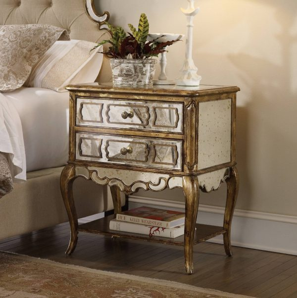 Hooker Furniture Sanctuary Bedroom Collection Bling Finish-8708