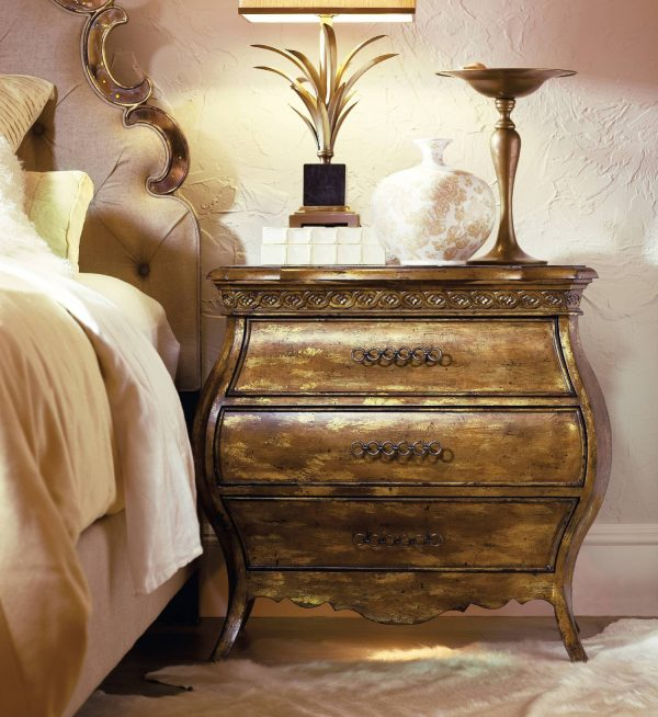 Hooker Furniture Sanctuary Bedroom Collection Bling Finish-8707