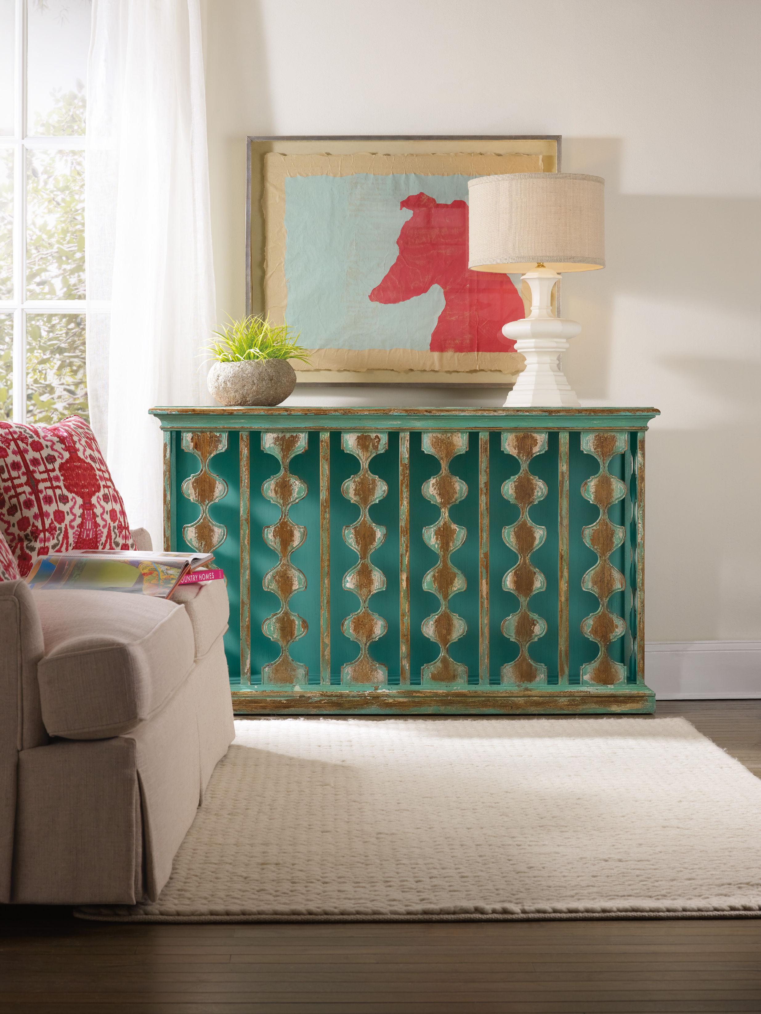 Magnificent Hooker Furniture Sanctuary Console Table 5406 85001 Home Interior And Landscaping Mentranervesignezvosmurscom