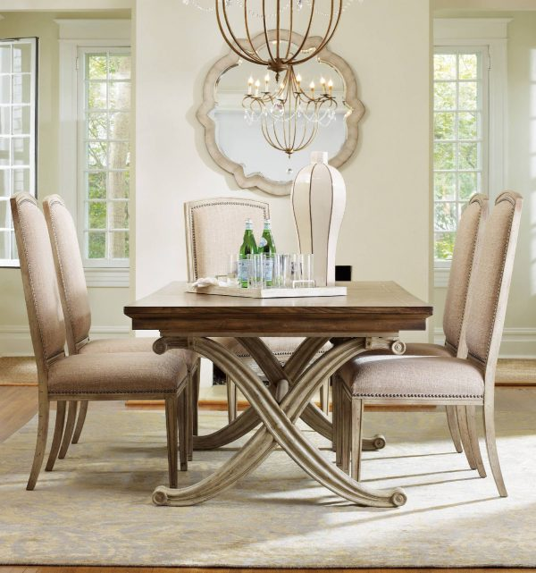 Hooker Furniture Sanctuary Dining Room Collection Dune Finish-8774