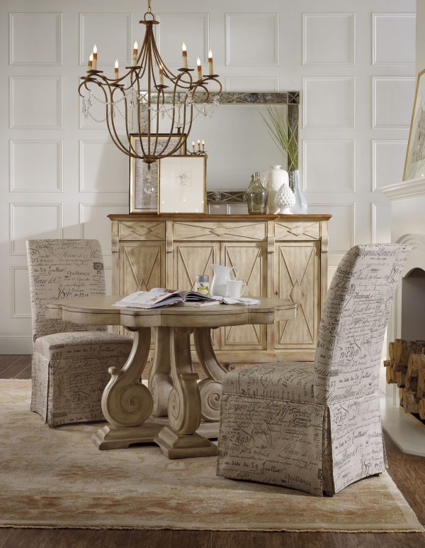 Hooker Furniture Sanctuary Dining Room Collection Dune Finish-8770