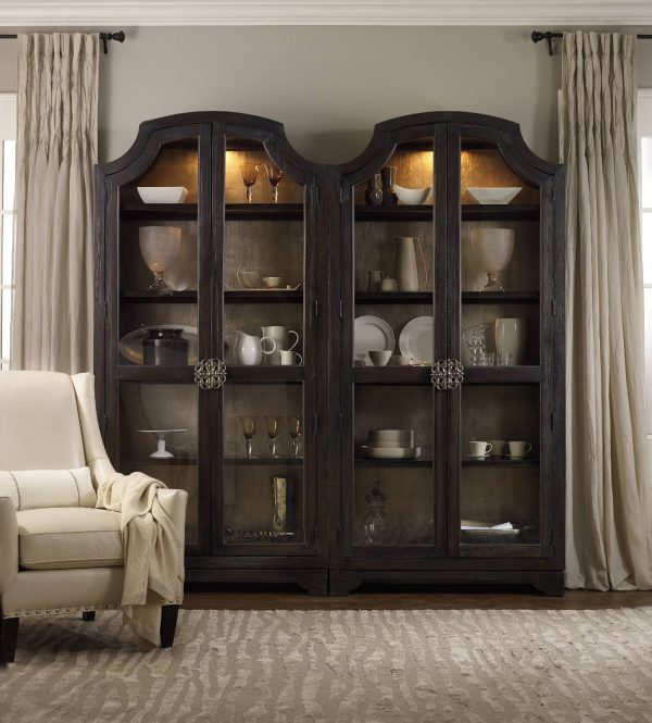 Hooker Furniture Sanctuary Dining Room Collection Ebony Finish-8764