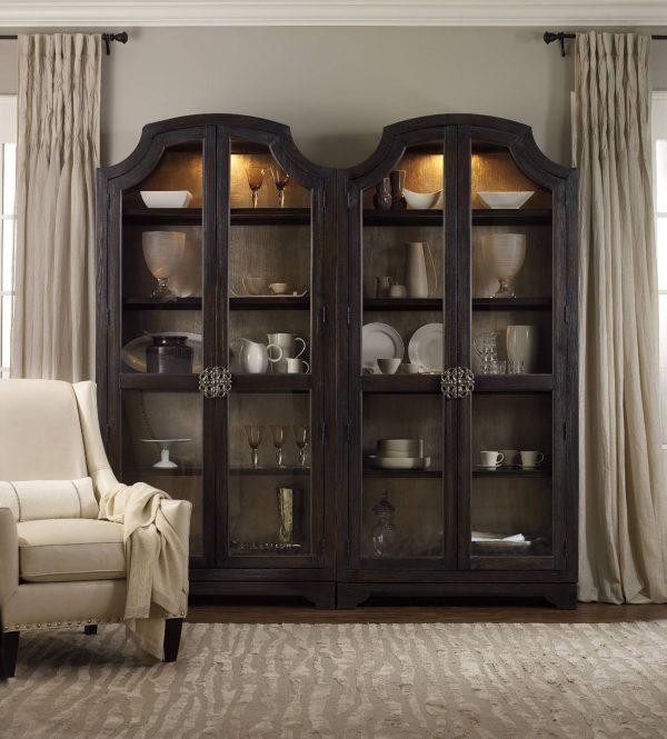 Hooker Furniture Sanctuary Dining Room Collection Ebony Finish-8764
