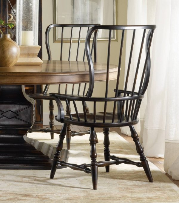 Hooker Furniture Sanctuary Dining Room Collection Ebony Finish-8759