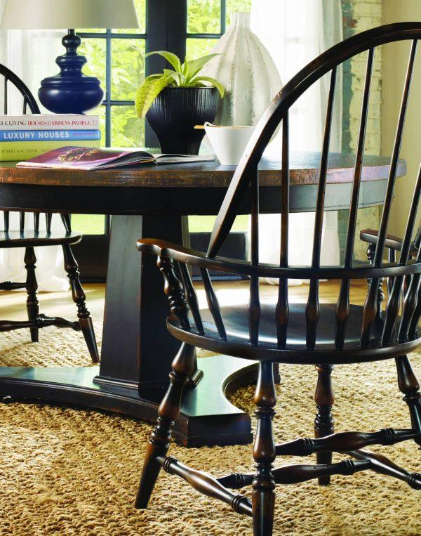 Hooker Furniture Sanctuary Dining Room Collection Ebony Finish-8757