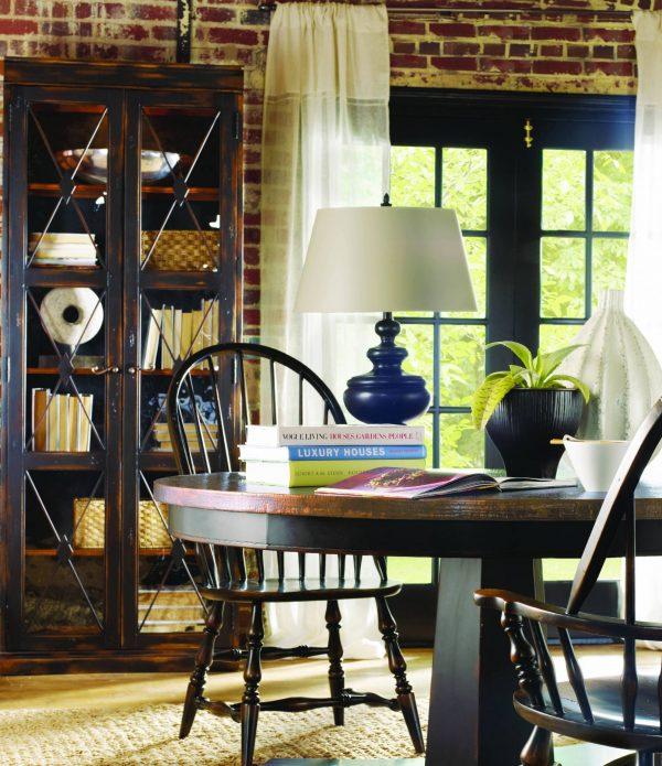 Hooker Furniture Sanctuary Dining Room Collection Ebony Finish-8755