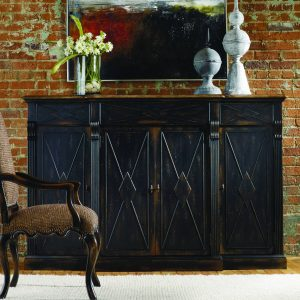 Hooker Furniture Sanctuary Dining Room Collection Ebony Finish-0