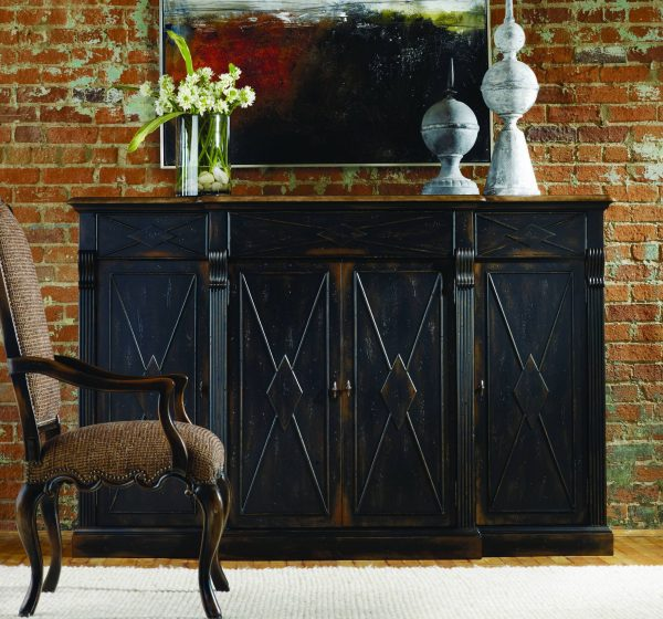 Hooker Furniture Sanctuary Dining Room Collection Ebony Finish-0