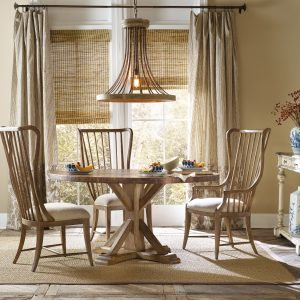 Hooker Furniture Sanctuary Dining Room with Copper Table-0