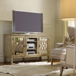 Hooker Furniture Sanctuary Entertainment Console Surf Visage 3013-55457-0