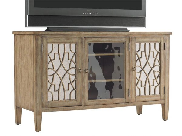 Hooker Furniture Sanctuary Entertainment Console Surf Visage 3013-55457-8808