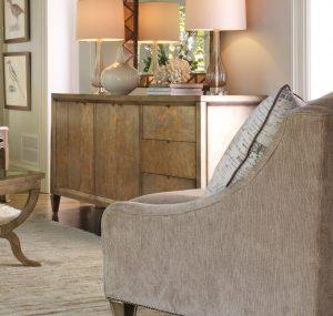 Hooker Furniture Sanctuary Four-Door Three-Drawer Console Visage 3014-85001-0